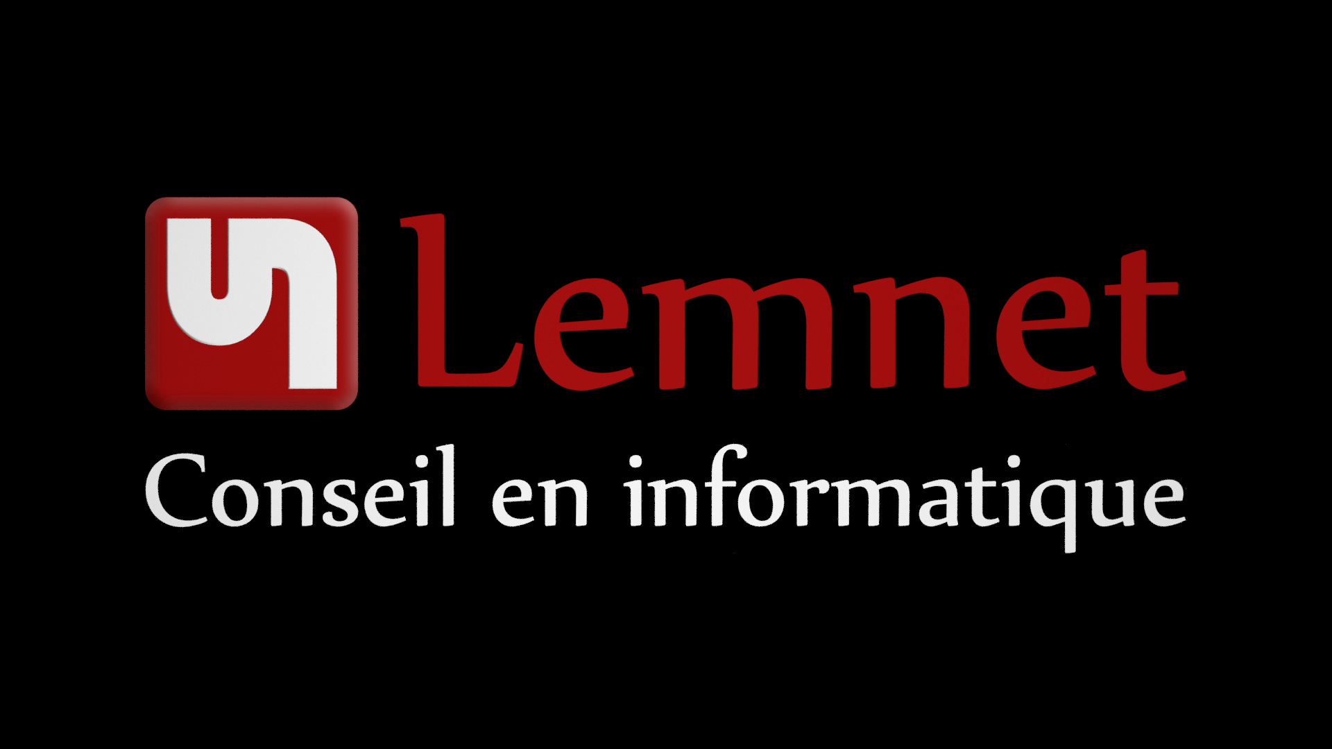 La construction du logo Lemnet expliqué en vidéo avec blender
