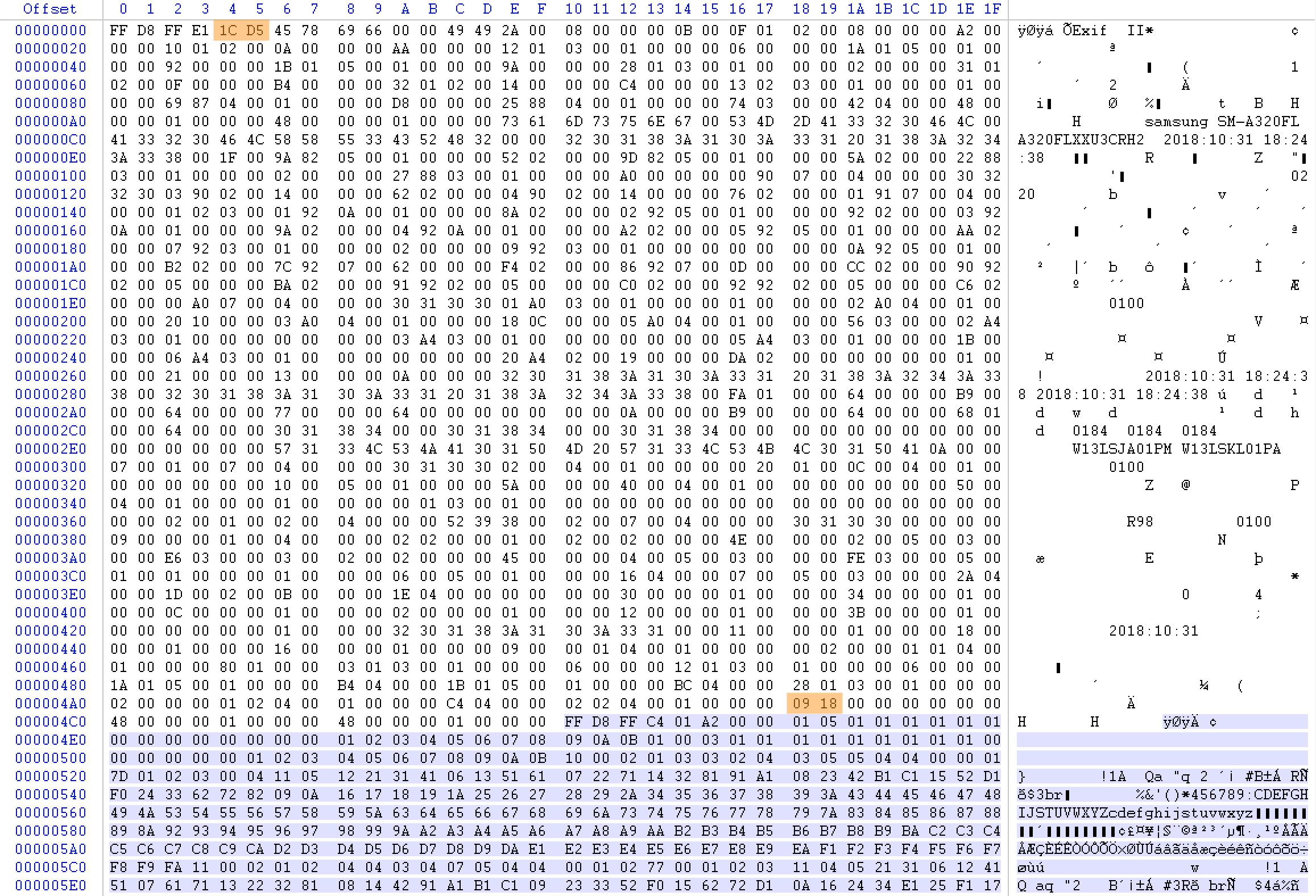 grande hexadecimal